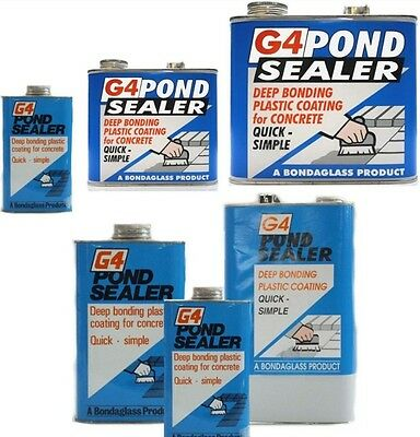 G4 polyurethane  POND SEAL SEALER PAINT 500g (CLEAR)(Free delivery) SALE!!!