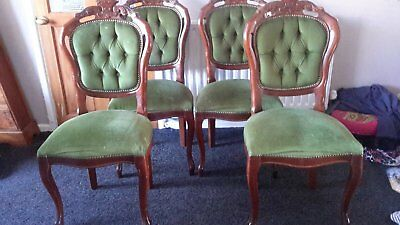 French Louis Style Chair x 4. Perfect for upcycling
