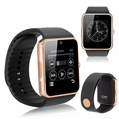 2017 Newest GT08 Bluetooth Smart Watch NFC Wrist Phone Mate For iPhone Andorid