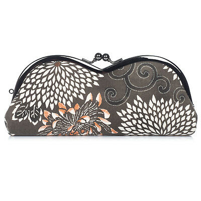 Grey Kikukarakusa Japanese Glasses Case