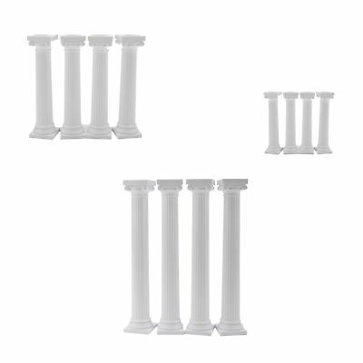 Wilton 4pk Grecian Pillars Wedding Cake Tier Separator Support Stand Decoration