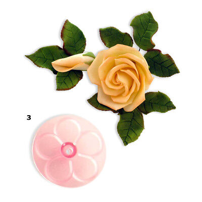 JEM 80mm EASY ROSE Flower Icing Cut Out Cutters Sugarcraft Cake Decoration