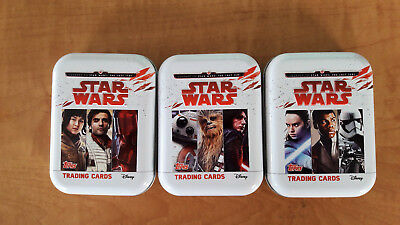 Journey to Star Wars The Last Jedi mini tin 1 limited edition 5 special 50 base