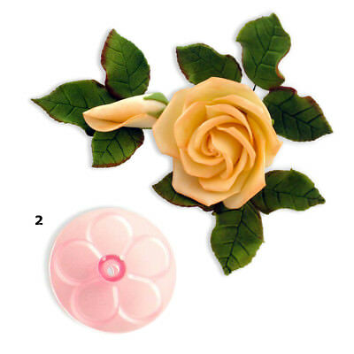 JEM 60mm EASY ROSE Flower Icing Cut Out Cutters Sugarcraft Cake Decoration