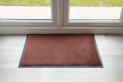 BEST Luxury Brown Throw Down Entrance Mat UK QUALITY MADE