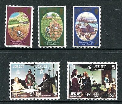 Jersey, 18 Complete Sets, Mnh (Id2423)