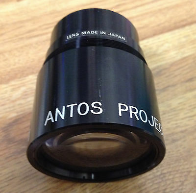 "Projection Lens 5"" Antona Japan 2"" threads F2.8 New Antos"