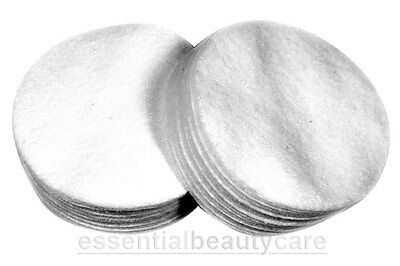 Case of 960 White Round Cotton Wool Discs Pads