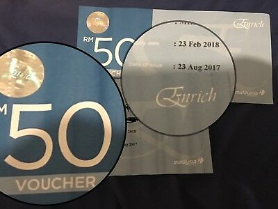 Malaysia airline voucher 100MYR 50*2 60%off
