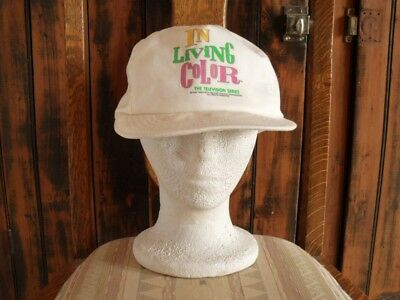 >Original 1990-dated **IN LIVING COLOR** Vintage HAT Ball Cap WAYANS BROTHERS