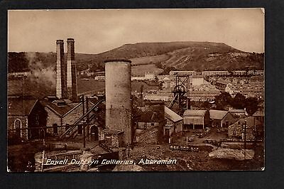 Aberaman - Powell Duffryn Collieries -  printed photographic postcard