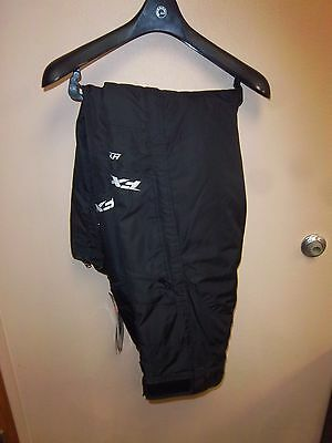 Snowmobile Riding FXR Squadron Pants Black Large 15175.10013