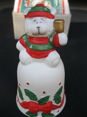 NEW IN BOX NIB Christmas Around the World Snow Bear Bell 54-723