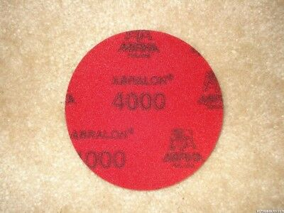 "Mirka 8A-203-4000 Abralon 3"" Foam Sponge Backed Vel Wet/Dry Discs P4000, 20p/Box"