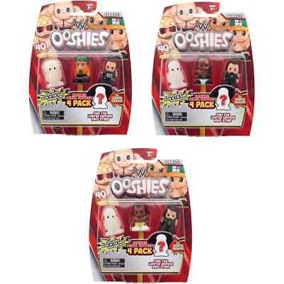 WWE Ooshies 4 Pack - Assorted*