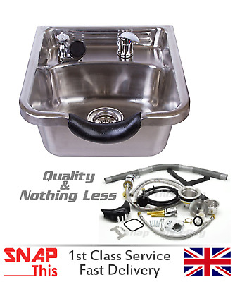 Hairdressing Back Wash Shampoo Basin Sink Salon Hairdresser Barbers Steel Metal