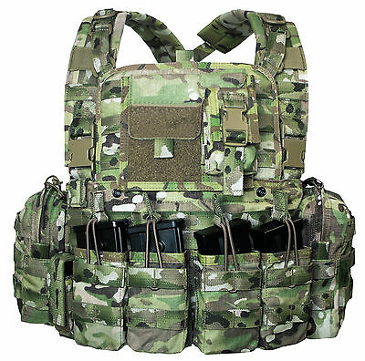 Warrior Assault System Multicam Chest Rig BW Bundeswehr G36 Combat Army Weste