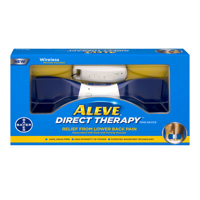 Aleve Direct Therapy Relief From Lower Back Pain TENS Device