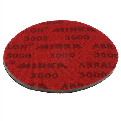 "Mirka 8A-203-3000 Abralon 3"" Foam Sponge Backed Vel Wet/Dry Discs P3000, 20pc/Bx"