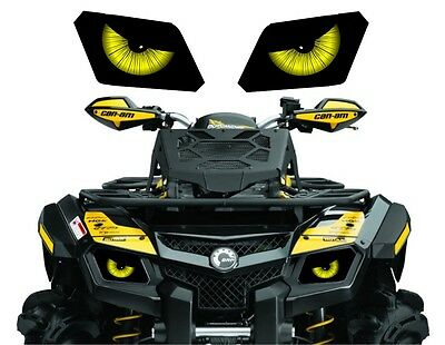 CAN AM  BRP OUTLANDER 800 800R efi 650 500 max 400 HEADLIGHT  DECAL STICKER 1