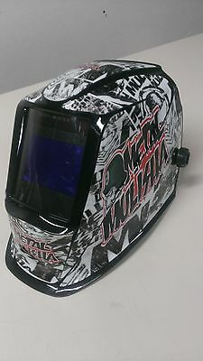 LINCOLN VIKING 2450 3350 WELDING jig  HELMET WRAP STICKER decal  SKINS welder mm