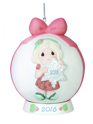 Precious Moments You Make The Season One of a Kind Dated Ball Ornament with Base