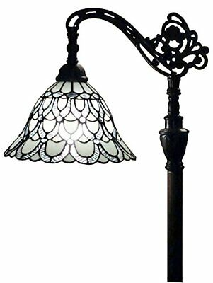 Tiffany Luxury Style Floor Lamp Stained Glass Art Home Decor Mission Handcrafted