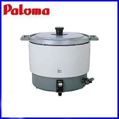 PALOMA Rice Cooker Large Volume Natural Gas MAX 6 liters LPG Business Use NEW