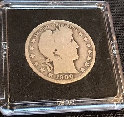 1900-O BARBER SILVER HALF DOLLAR With NEW ORLEANS MINT MARK!