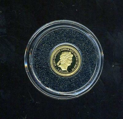 2011 Fiji One Dollar Gold Coin - Nero Caesar
