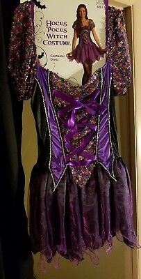 HALLOWEEN COSTUMES - ADULT SIZE LARGE - Hocus Pocus Witch