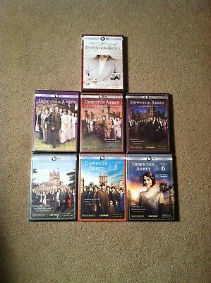Downton Abbey Seasons 1-6 Complete Series Brand New With Bonus DVD Included