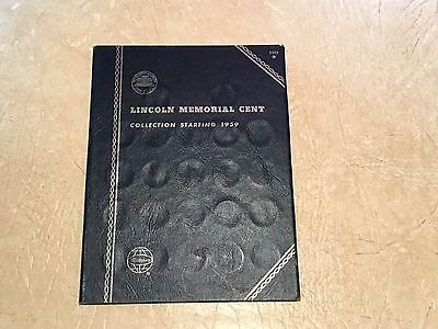 1959-1981 PDS MINTS 56 COINS Penny Book Lincoln Memorial Cents LOT