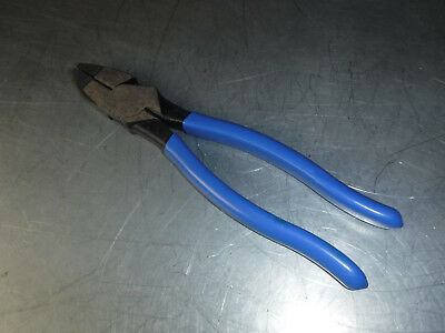 "Used D2000-9Ne Klein 9-3/8"" Linemans Pliers Usa"