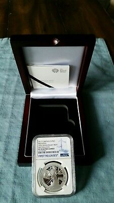 2017 Silver 1oz Proof BRITANNIA. NGC PF70 UCAM! FIRST RELEASES. LOW COA# 0314