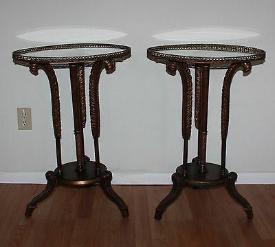 Two Antique Night stands / Side Tables