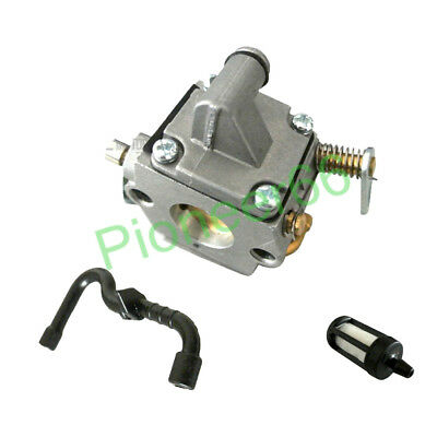 New Carburetor Carb with Fuel Filter Line For Stihl 017 018 MS170 MS180 Chainsaw