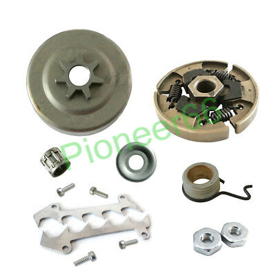 """Chain Sprocket 3/8""""-6T Clutch Drum Worm Gear Kit FOR STIHL MS180 MS170 017 018"""