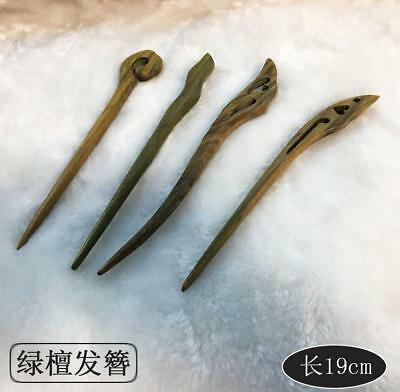 Handmade Carved Chic Wooden Hair Stick Pin Vintage Wood Women Hair Accessories