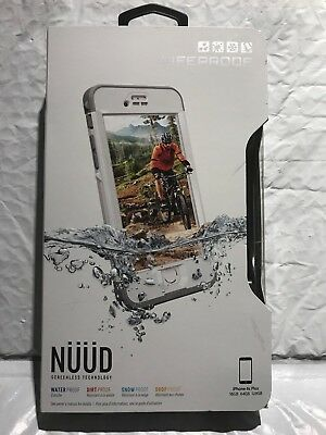 100% Authentic LifeProof Nuud WaterProof Case For iPhone 6s Plus  BRAND NEW !!