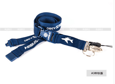 Lanyard 13.Airlines AIRBUS A380 LOGO Long Version Lanyard