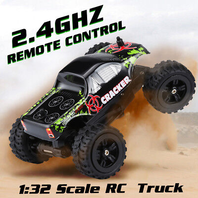 Virhuck Mini RC Monster Truck 1/32 2.4GHz 4CH 2WD 20km/h Electric Off-road Cars