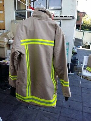 Structural Fire Fighter Jackets & Trouser Set fireman  As brand new - Big sizes