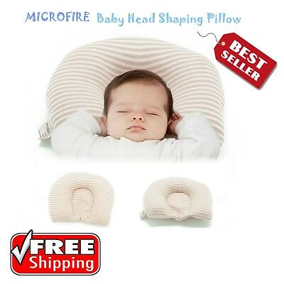 Newborn Infant Baby Head Shaping Pillow Prevent Flat Head Bed Safety Sleeping