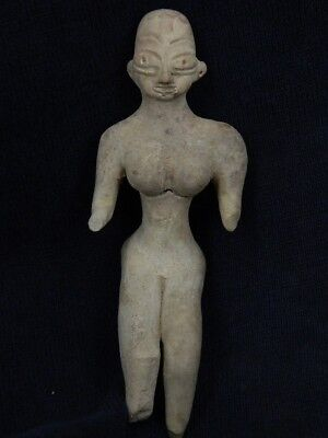 Ancient Teracotta Mother Goddess Indus Valley 2000 BC  #TR8082