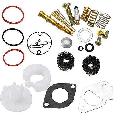 Master Carburetor Rebuild Kit For Briggs & Stratton Nikki Carb 796184 698787