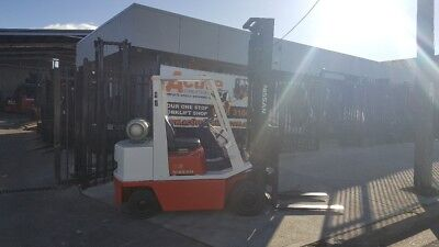 Nissan Forklift 2.5 Ton 4.5m Lift Runs well  Refurbished $6499+GST Negotiable