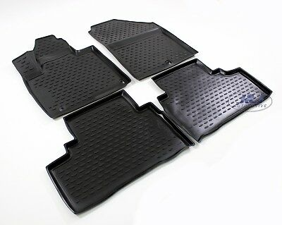 3D EXCLUSIVE TAPIS DE SOL EN CAOUTCHOUC pour  FORD B-MAX 2012-up  4pcs