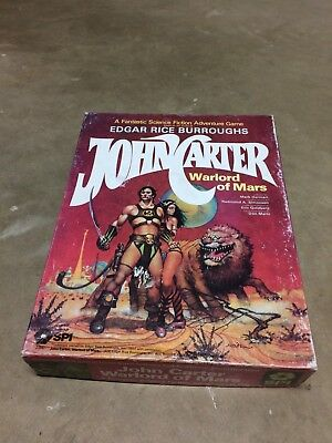 ERB John Carter, Warlord of Mars Boxed Game by SPI 1979