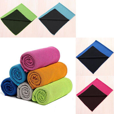 Instant Cooling Towel Cycling Jogging Sports Gym Towel Drying Sweat Absorb Dry
